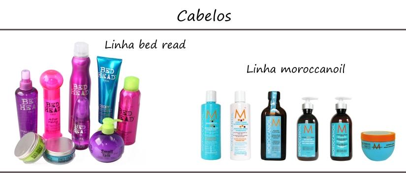 Produtos para cabelos de farmácias americanas