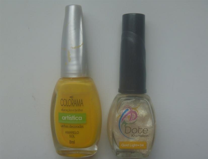 Esmalte amarelo sol colorama